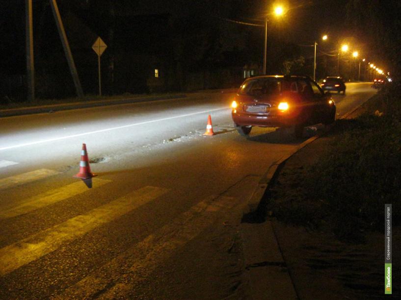 В Тамбове автомобилист сбил двух девушек на пешеходном переходе