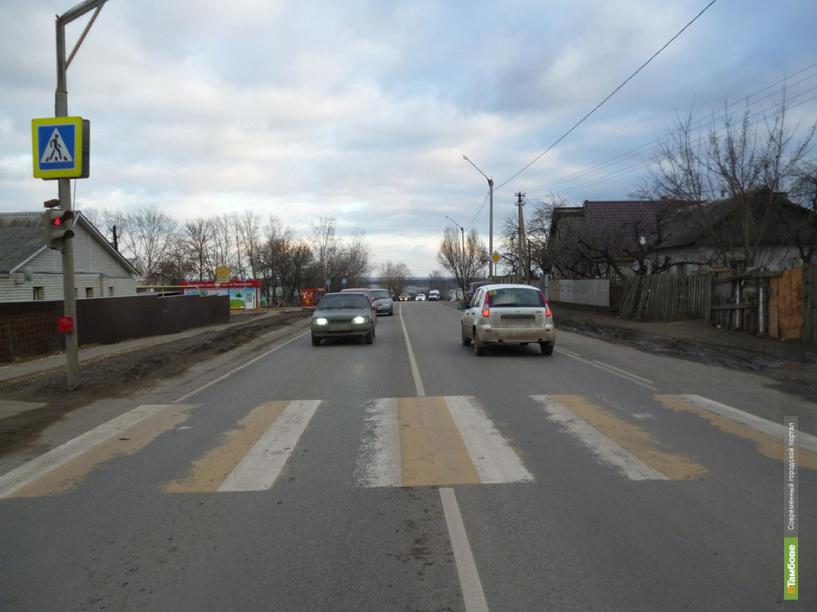 В Тамбовском районе водитель авто сбил подростка и скрылся