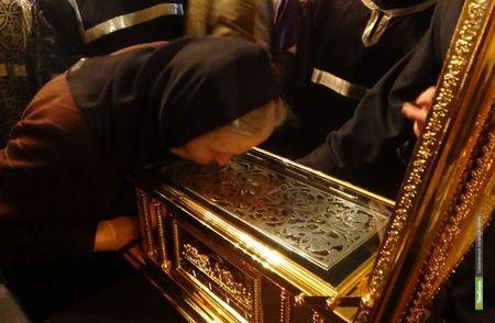 Мощи Андрея Первозванного привезли в Тамбов