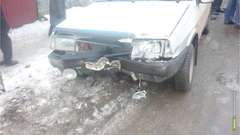 В Мичуринске в аварии пострадал 10-летний ребенок