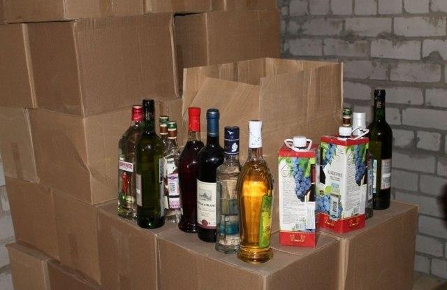 Полицейские «прикрыли» пункты незаконной продажи алкоголя