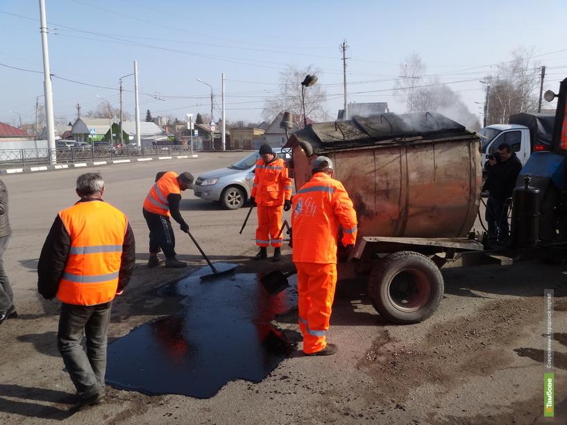 Ямы на дорогах Тамбова в этом году отремонтируют по-новому