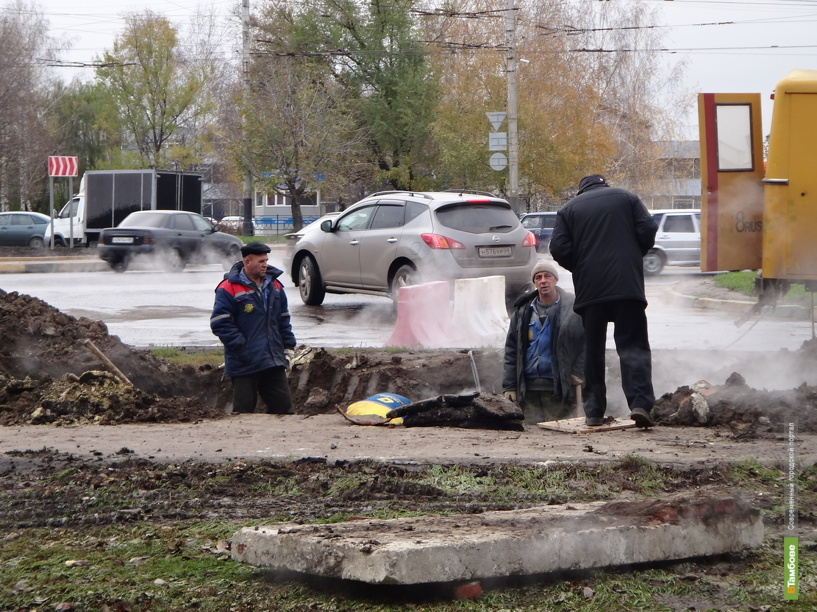 Без тепла в Тамбове остались лицей и детский сад