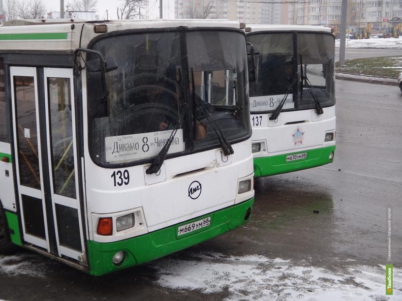 Пассажирскому транспорту Тамбова устроят внеплановый техосмотр