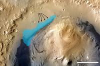 Curiosity обнаружил на Марсе следы древнего озера