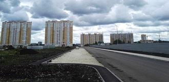 Строительство улицы Пахотной в Радужном завершат к началу учебного года