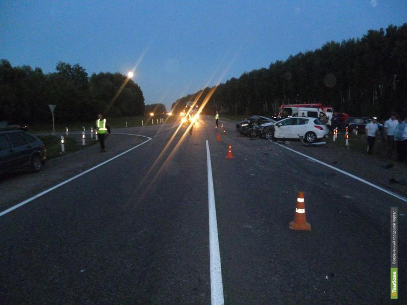 На автодороге М6 «Каспий» в аварии погибла женщина