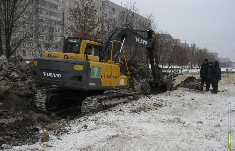 На севере областного центра ввели в эксплуатацию новый коллектор