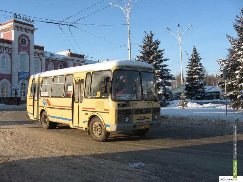 Полицейские обнаружили на автобусной остановке мертвого тамбовчанина