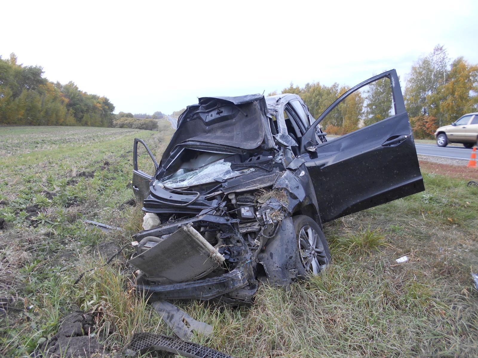 Ужасное ДТП натрассе «Орел-Тамбов» забрало жизнь водителя иномарки