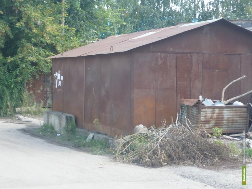 Неухоженный гараж влетит тамбовчанам в копеечку