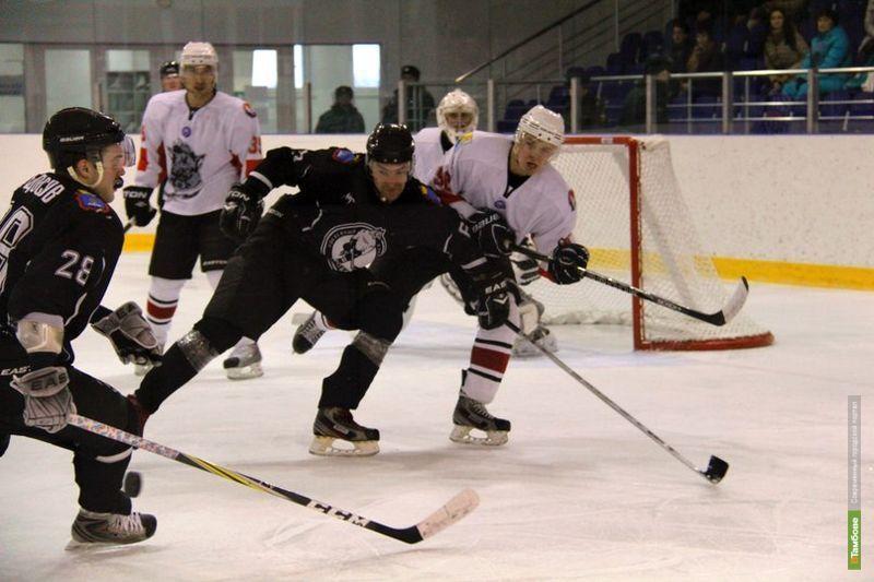 Тамбовские хоккеисты прервали проигрышную серию «домашек»