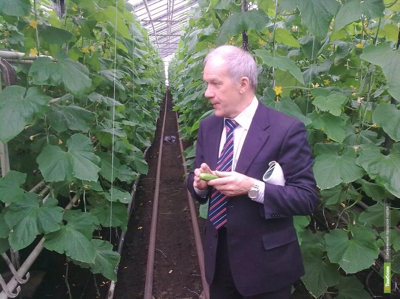Олег Бетин расскажет про выращивание овощей в теплице