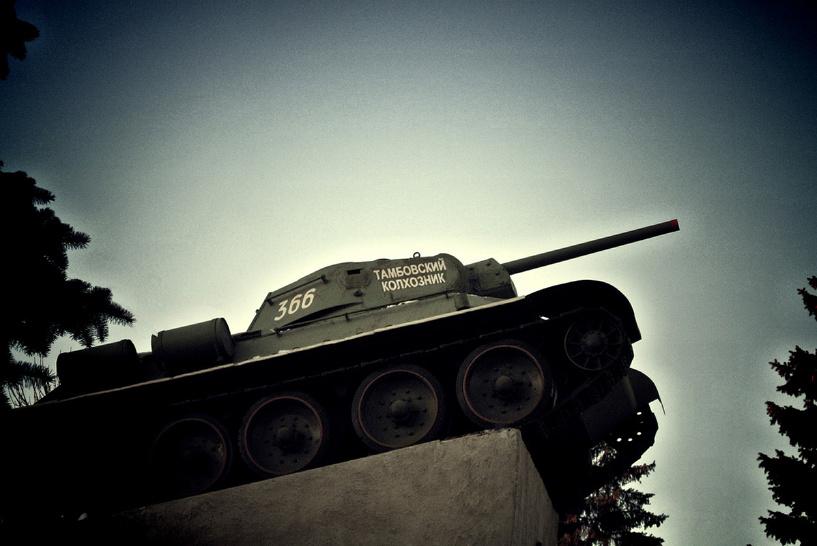 На памятнике танку в Тамбове появится цитата Сталина
