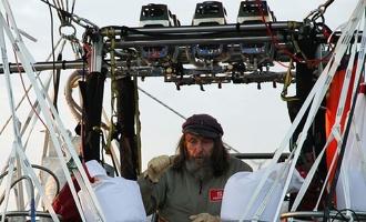 Фёдор Конюхов завершил кругосветное путешествие на воздушном шаре