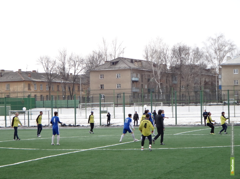 Тамбовская «Академия футбола» сразилась с липецким «Металлургом»