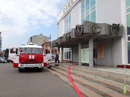 """Тамбовконцерт """"спасали"""" расчеты всех пожарных частей города"""