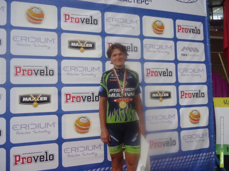 Тамбовчанка Марина Осипова стала лучшей велогонщицей России