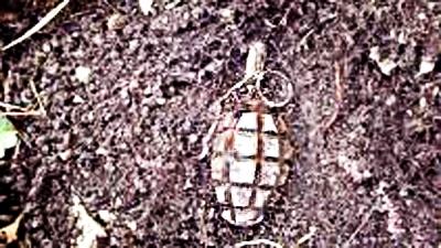 На севере Тамбова нашли «лимонку»