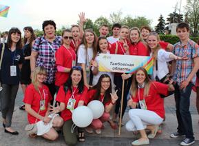 Тамбовские студенты вернулись с наградами с «Российской студвесны»
