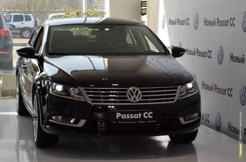 Новый Passat CC в Тамбове