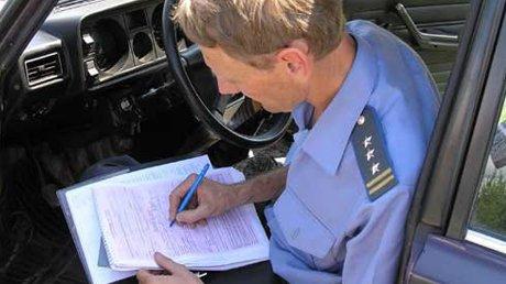 Мичуринского инспектора ДПС подозревают в служебном подлоге