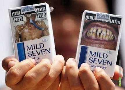 На власти подают в суд за ужасы на сигаретных пачках