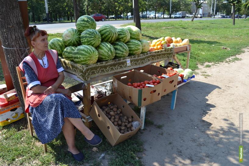 В Тамбове продают отравленные арбузы