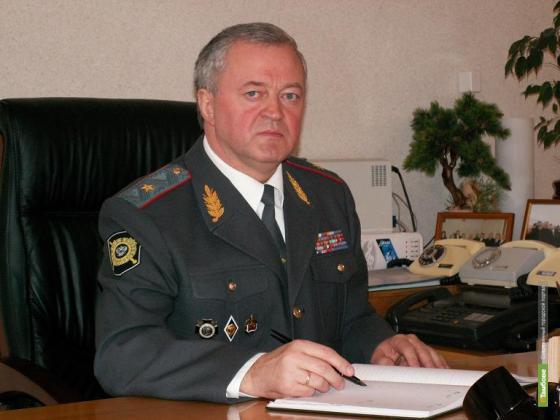 Президент РФ одобрил отставку главы Тамбовского УВД