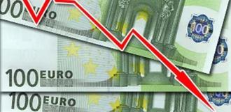 Официальный курс евро опустился ниже 60 рублей