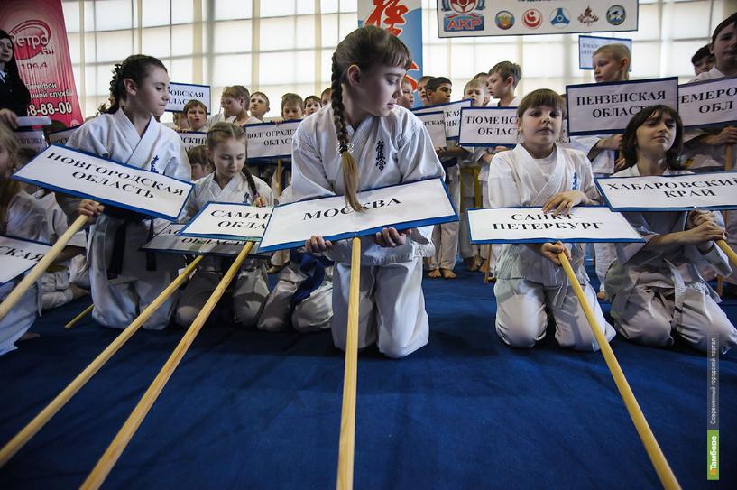 Тамбов принимает первенство России по кёкусинкай каратэ