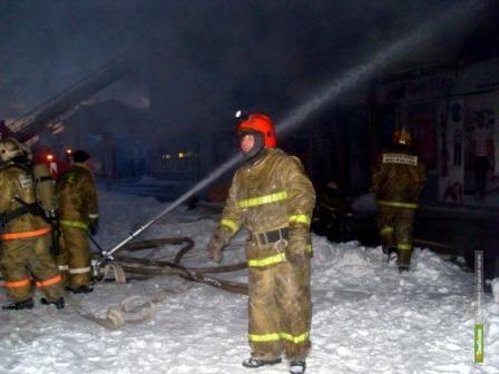 В пожаре на Тамбовщине погибли 5 человек