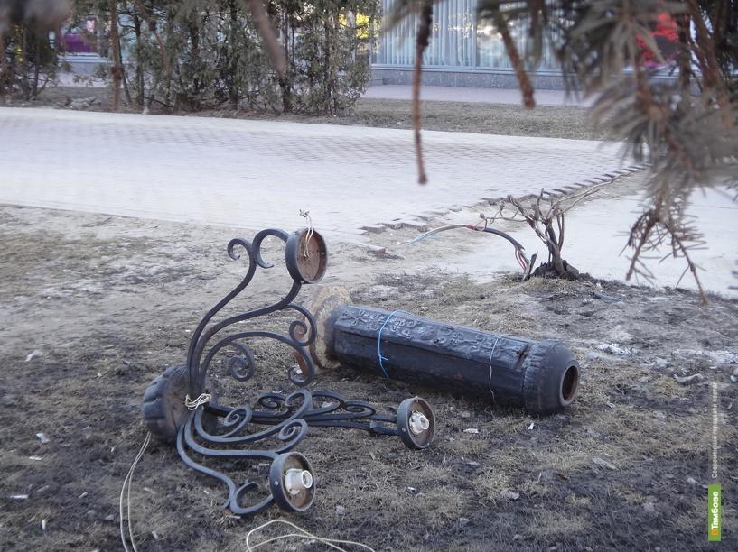 Интернациональную в Тамбове лишили уличного освещения