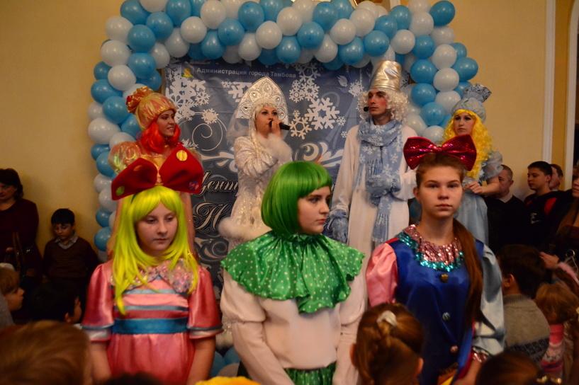В Тамбовском драмтеатре состоялся новогодний праздник для детей