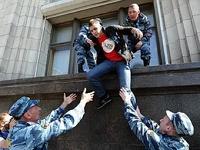 Полиция задержала 70 митинговавших против закона о митингах