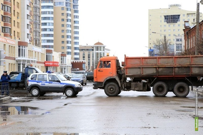 Завтра центральные улицы Тамбова перекроют