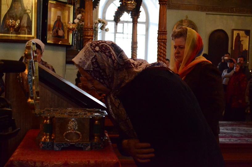 В Тамбов прибудет частица мощей преподобного Сергия Радонежского