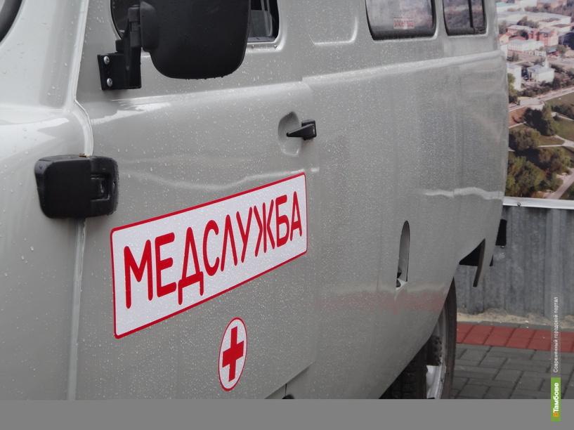 В Тамбове иномарка сбила женщину с ребенком