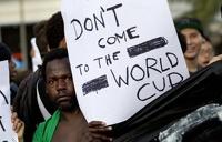 Бразильцы восстали против расходов на чемпионат мира по футболу
