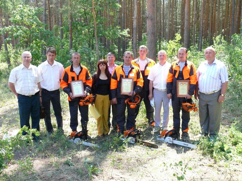 Лучший лесоруб Тамбовщины отправится на Всероссийский конкурс