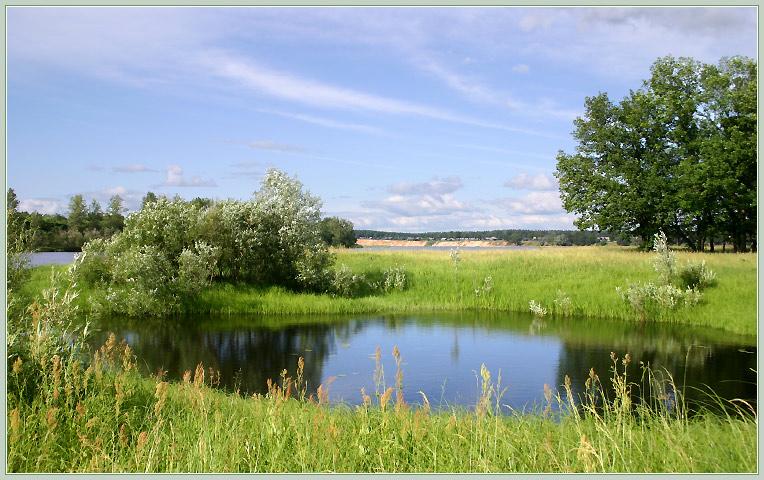 В Рассказово хотят благоустроить набережную реки Арженки