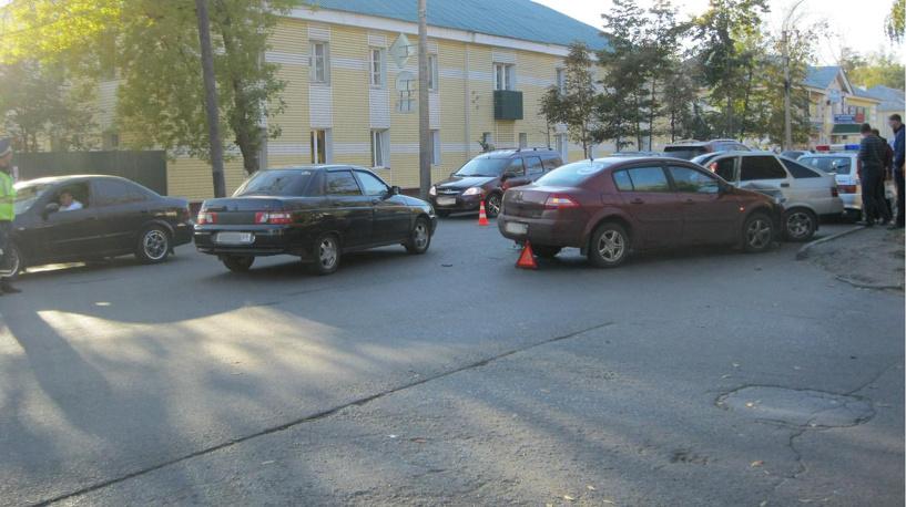 В Тамбове в ДТП пострадал молодой мужчина