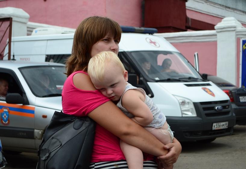 Большинство попавших в Тамбов украинцев мечтают вернуться домой