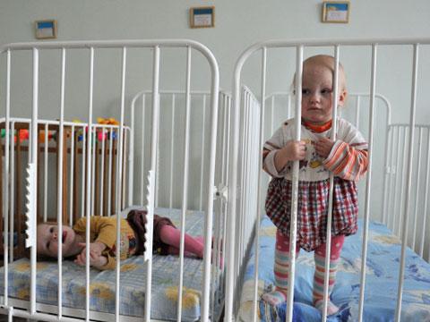 В областном доме ребёнка появилось новое реабилитационное оборудование