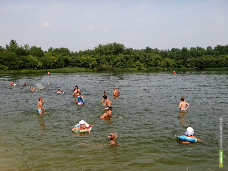 В Тамбове продолжается купальный сезон