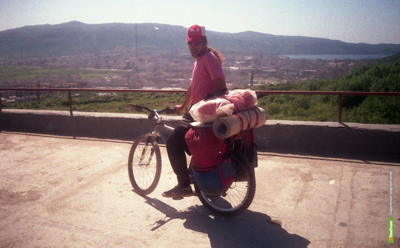 Тамбовчанин проехал на велосипеде половину Мексики