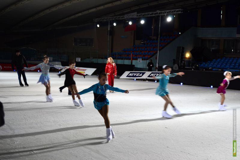 Ледовый дворец «Кристалл» открыт для массового катания