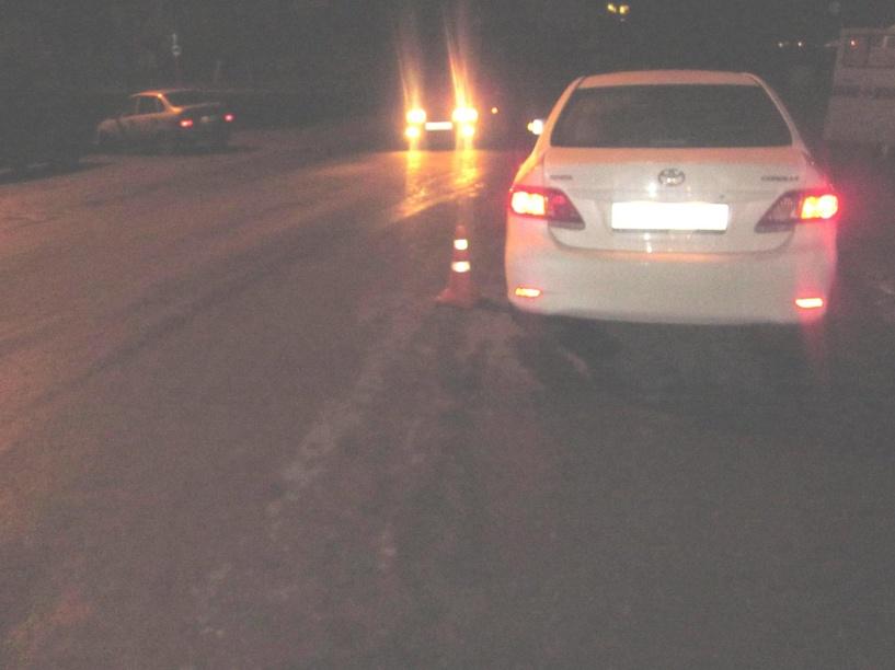 В Рассказово иномарка сбила двух пешеходов