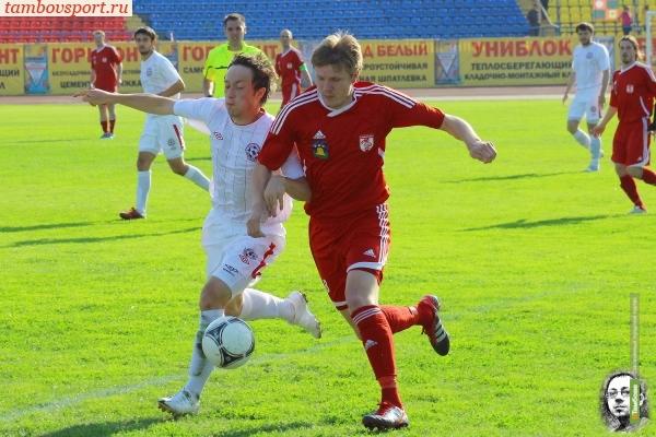 Тамбовский «Спартак» потерпел поражение от очередного «Металлурга»