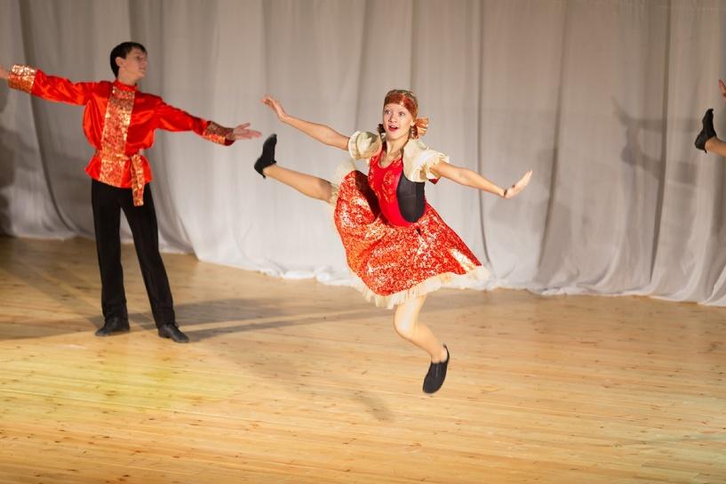 Мичуринский танцевальный коллектив «Орион» дал благотворительный концерт